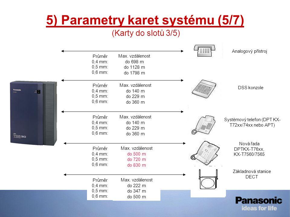 5) Parametry karet systému (5/7)