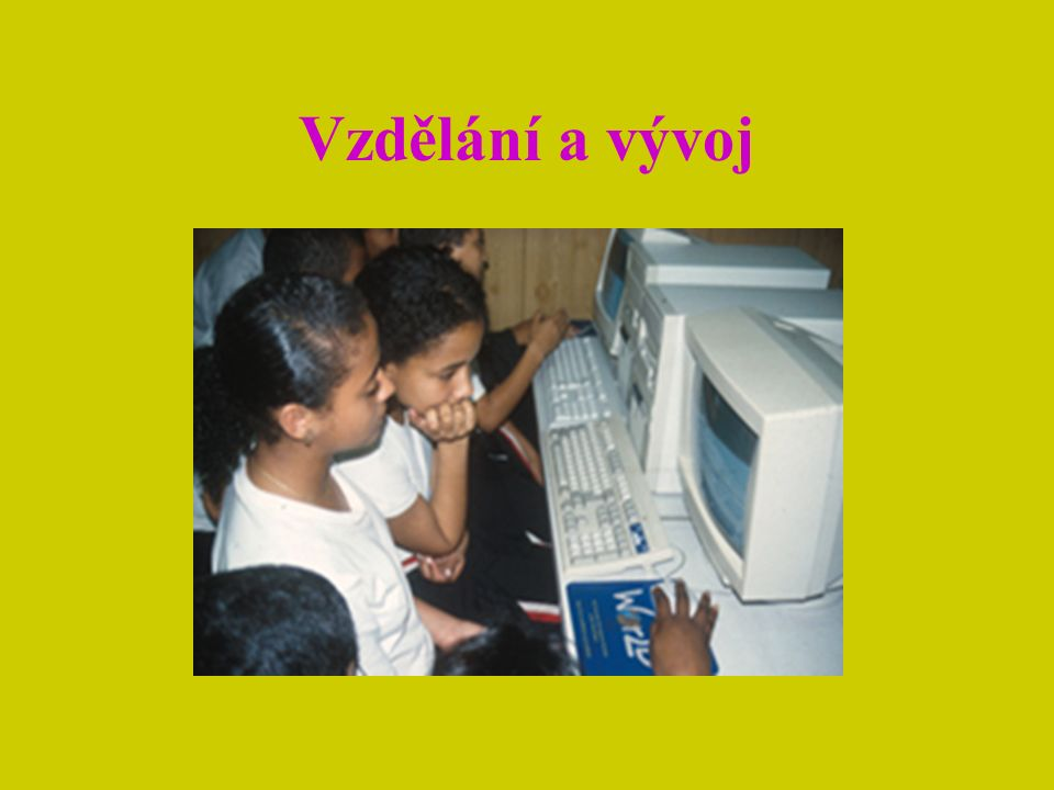 Vzdělání a vývoj