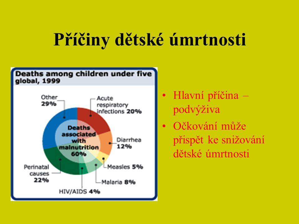 Příčiny dětské úmrtnosti