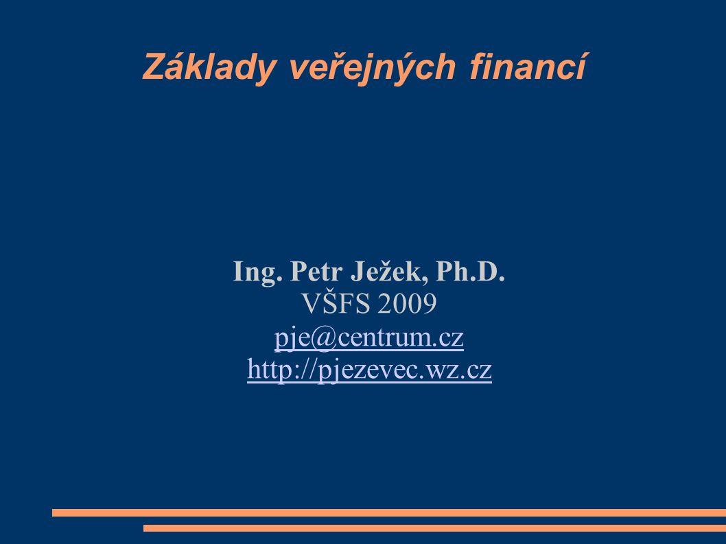 Základy veřejných financí