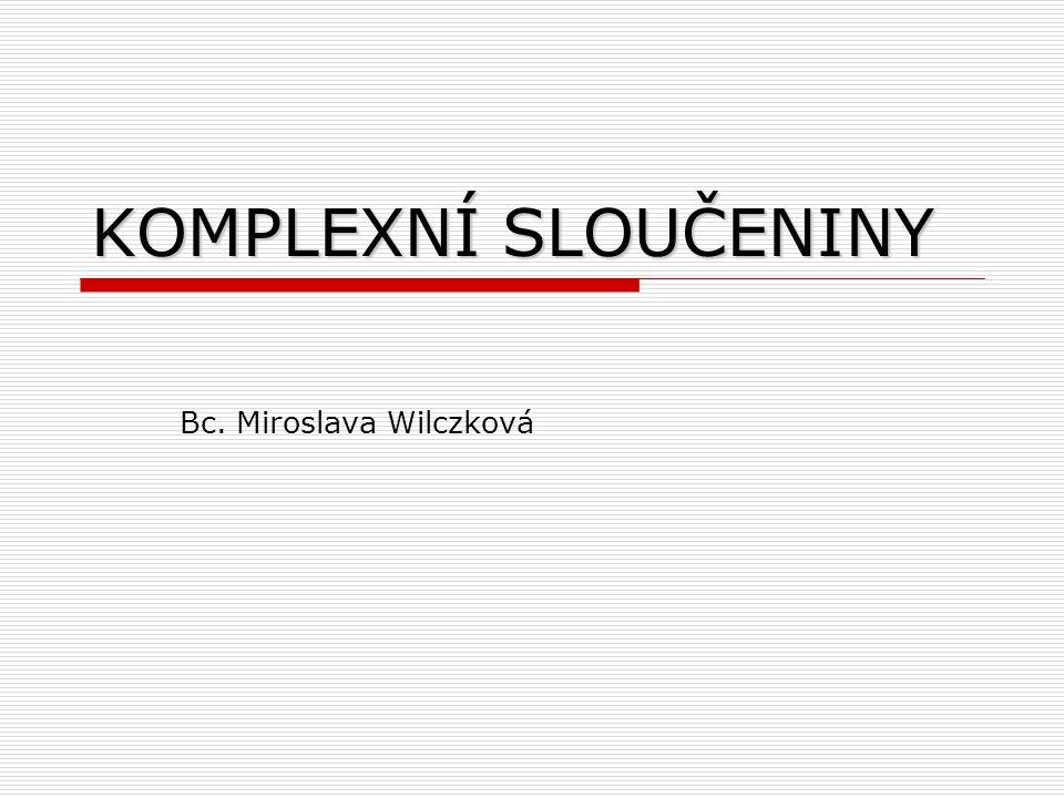 Bc. Miroslava Wilczková