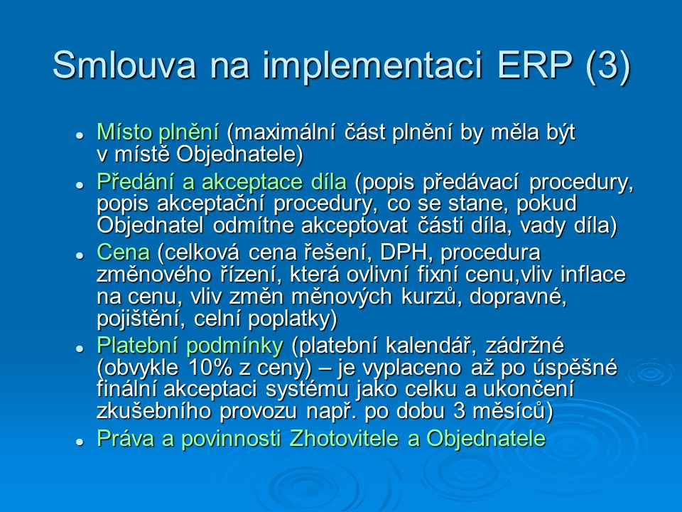 Smlouva na implementaci ERP (3)