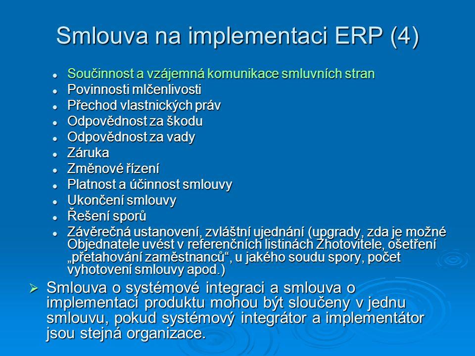 Smlouva na implementaci ERP (4)