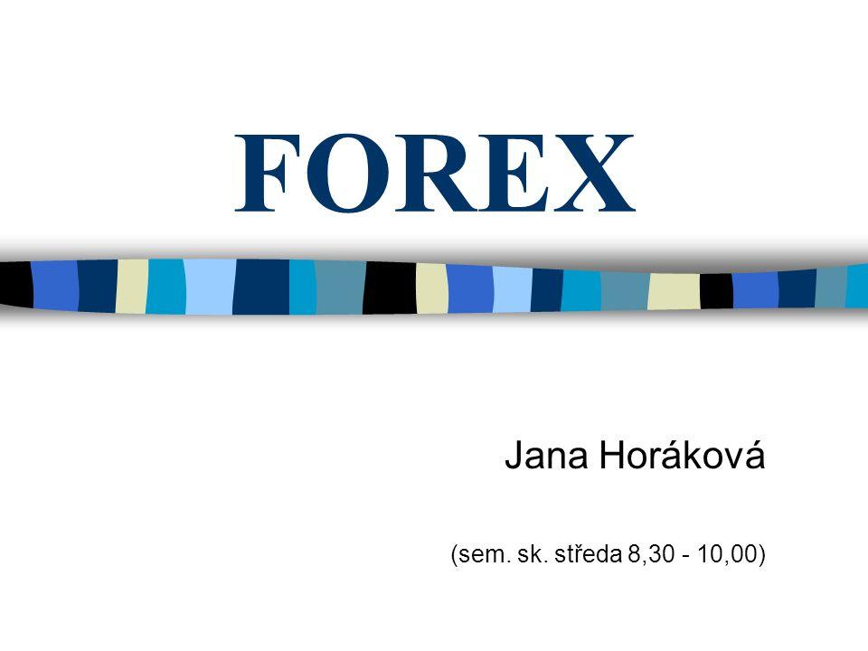 Jana Horáková (sem. sk. středa 8,30 - 10,00)