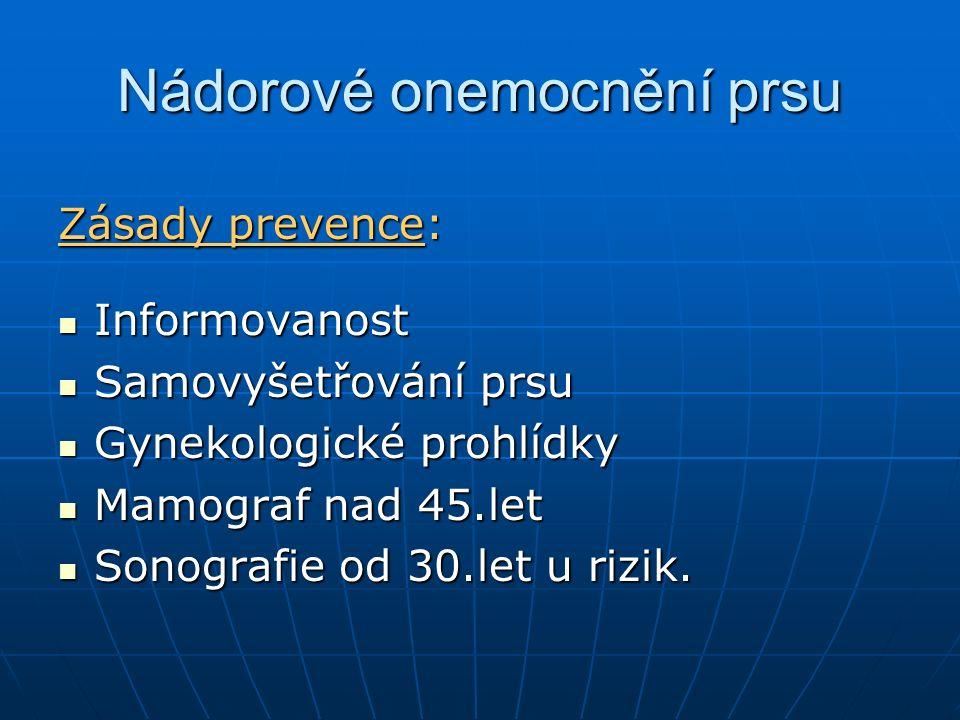Nádorové onemocnění prsu