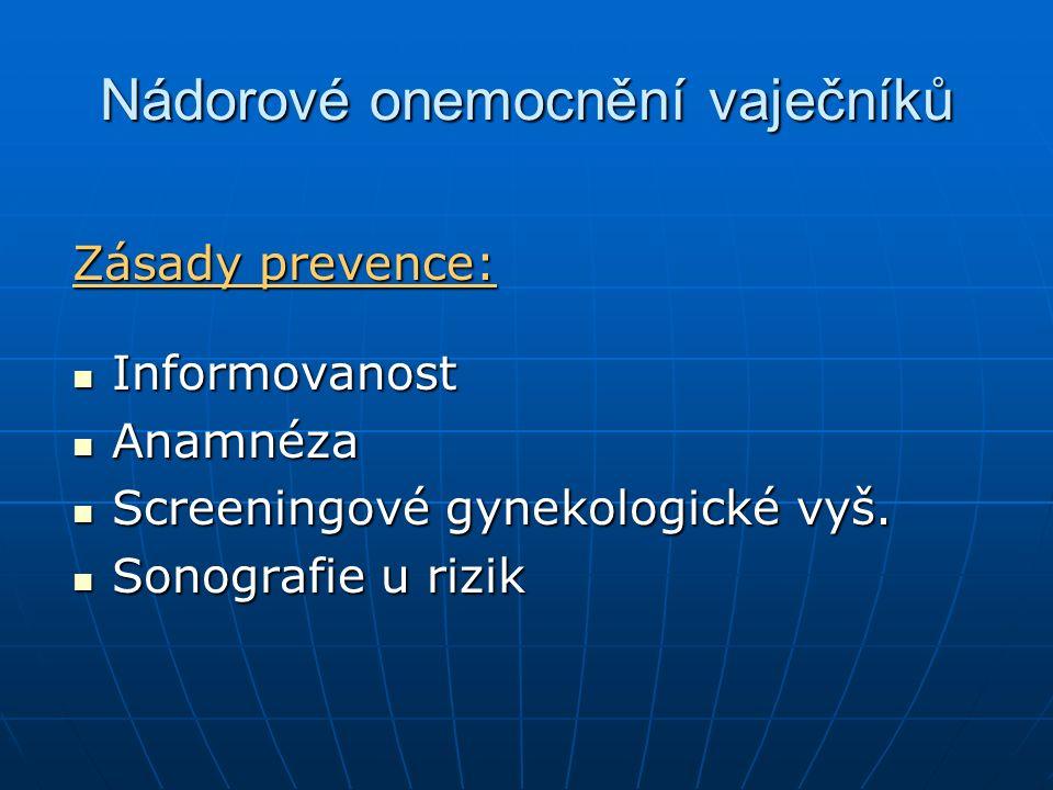 Nádorové onemocnění vaječníků