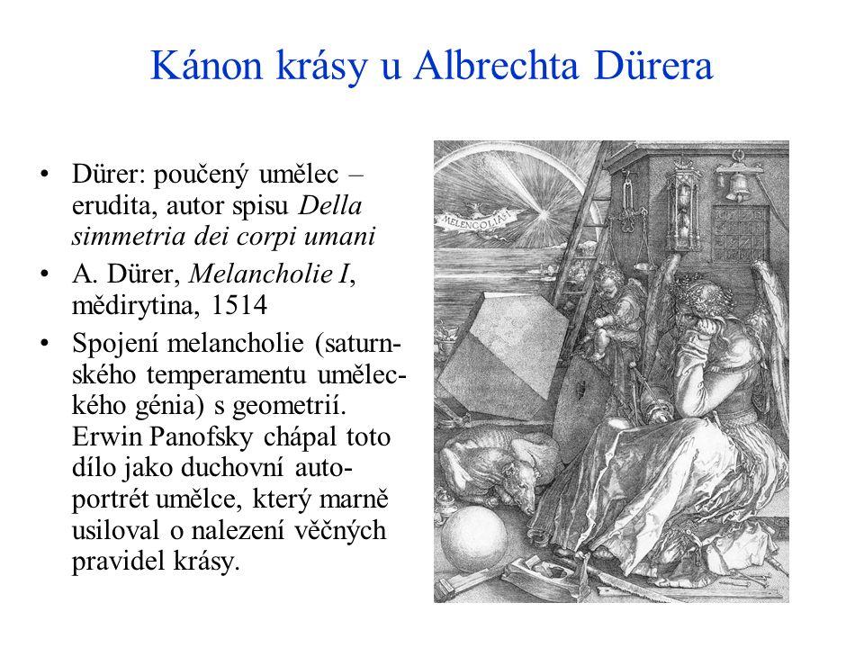 Kánon krásy u Albrechta Dürera