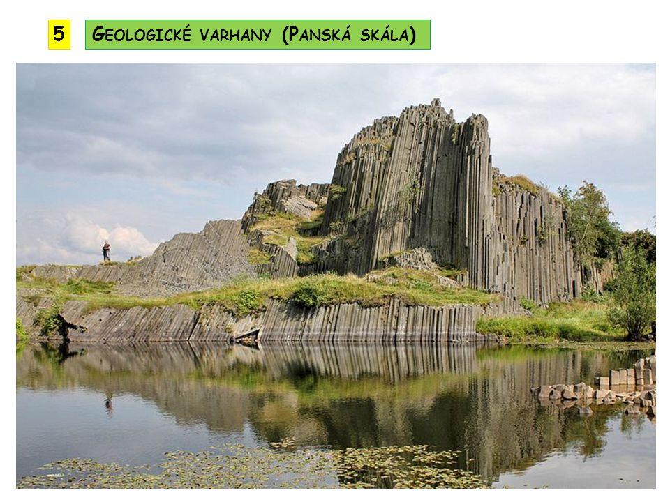 5 Geologické varhany (Panská skála)
