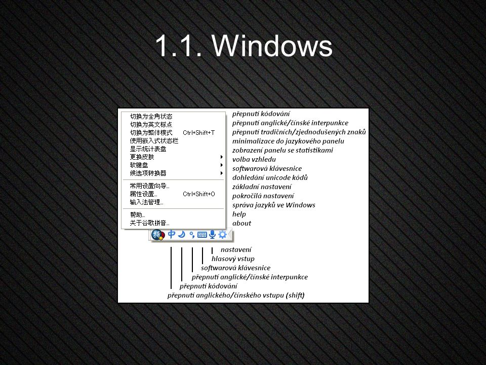 1.1. Windows