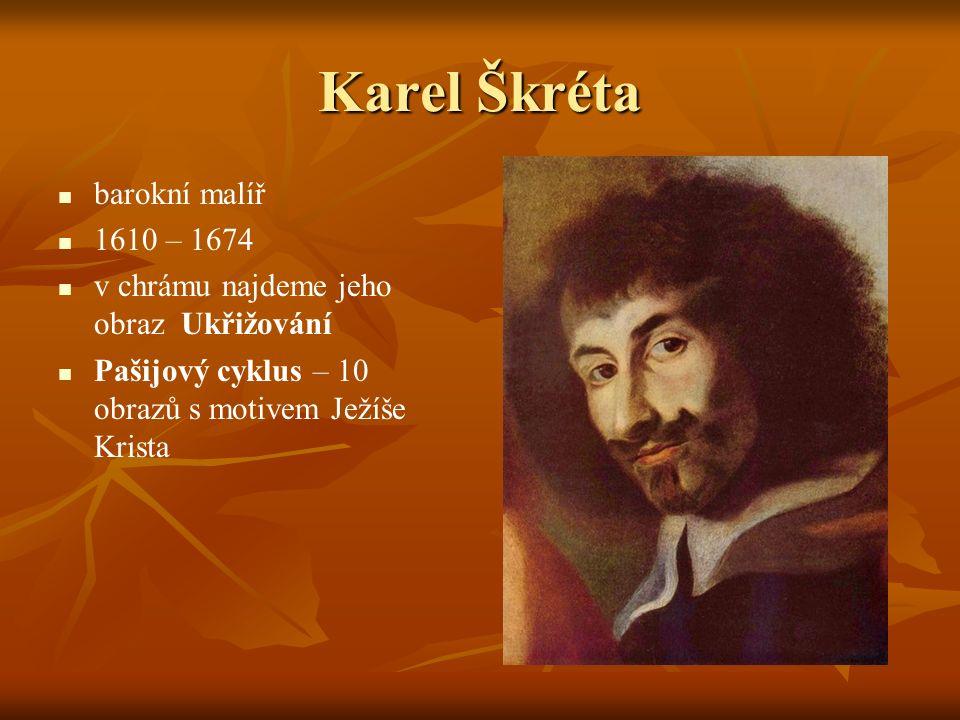 Karel Škréta barokní malíř 1610 – 1674