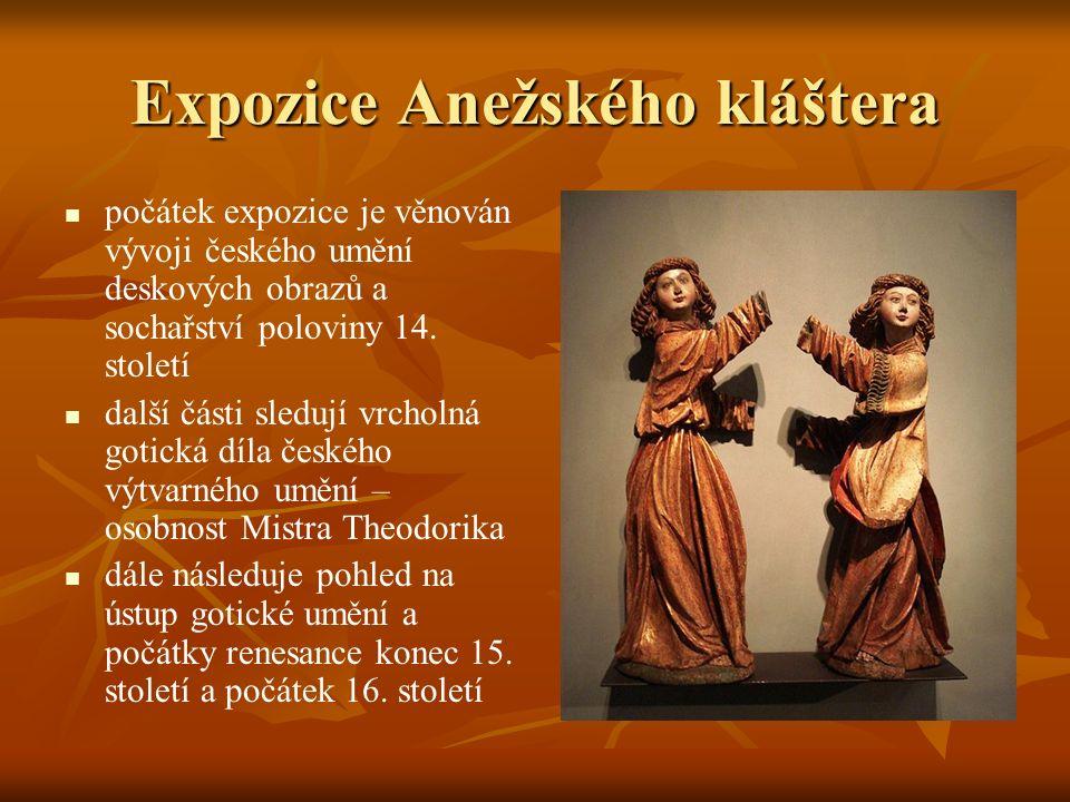 Expozice Anežského kláštera