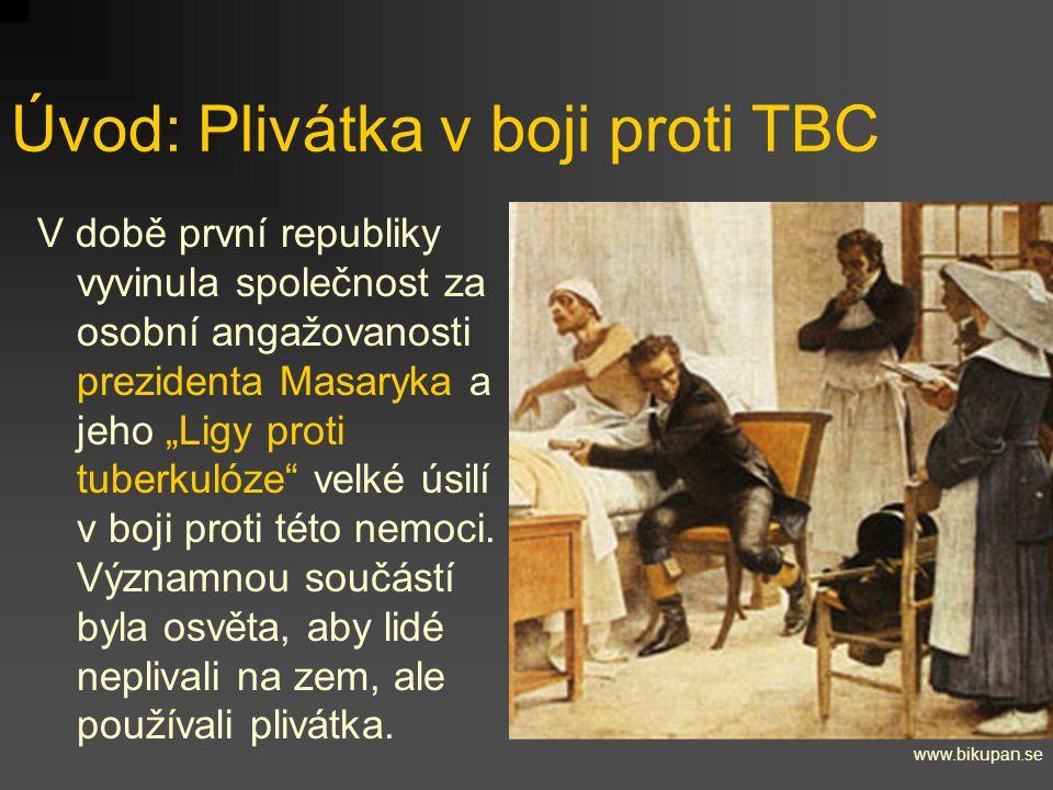 Úvod: Plivátka v boji proti TBC