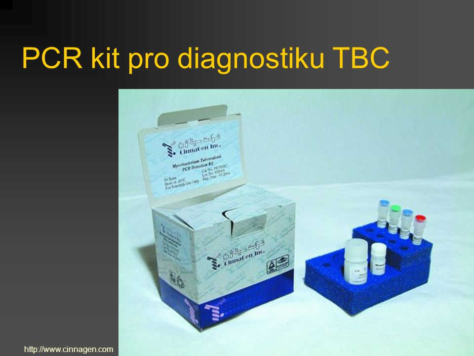 PCR kit pro diagnostiku TBC