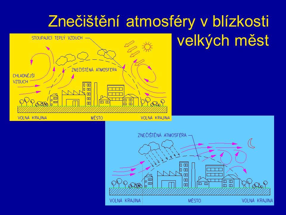Znečištění atmosféry v blízkosti velkých měst