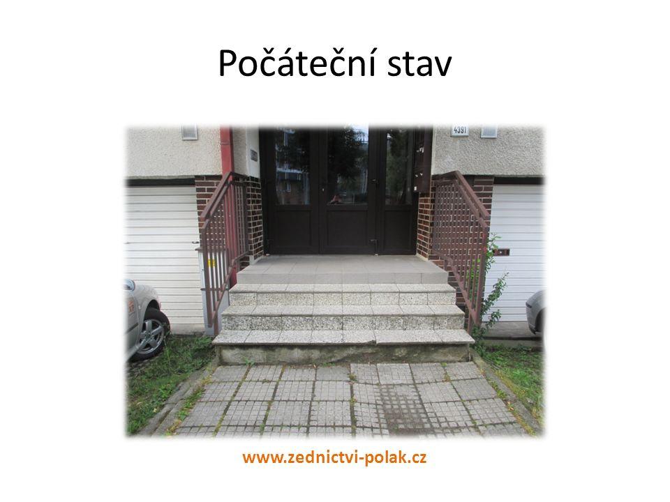 Počáteční stav www.zednictvi-polak.cz