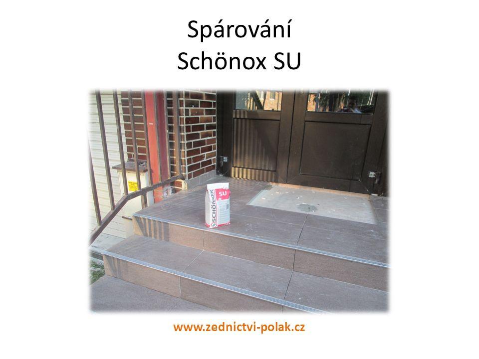 Spárování Schönox SU www.zednictvi-polak.cz