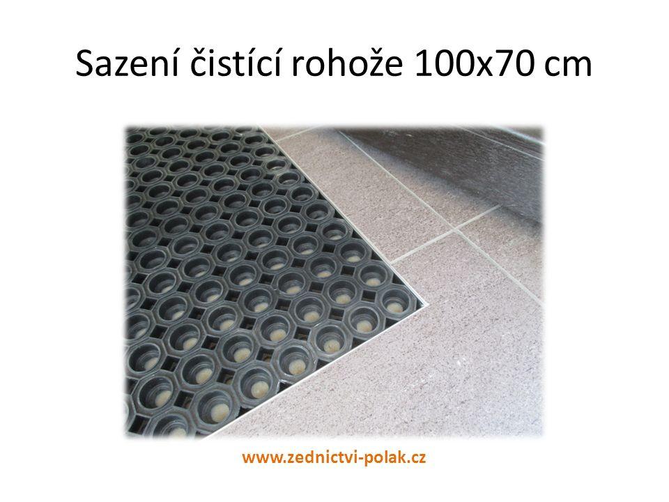 Sazení čistící rohože 100x70 cm