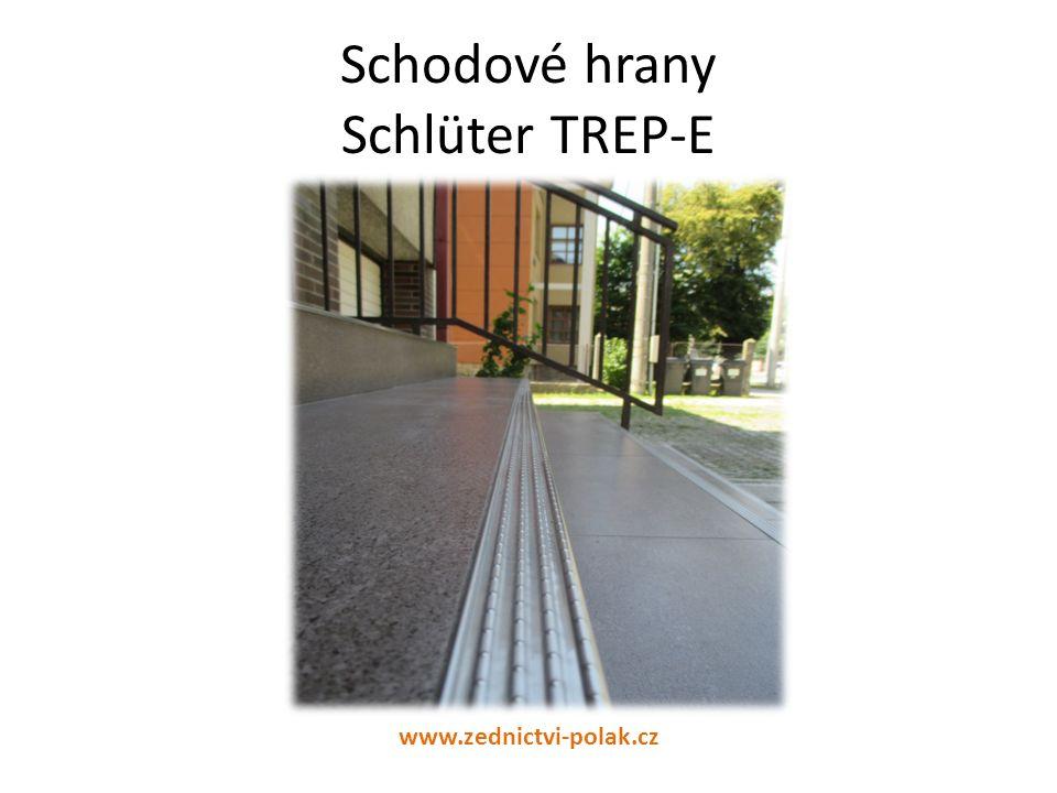 Schodové hrany Schlüter TREP-E