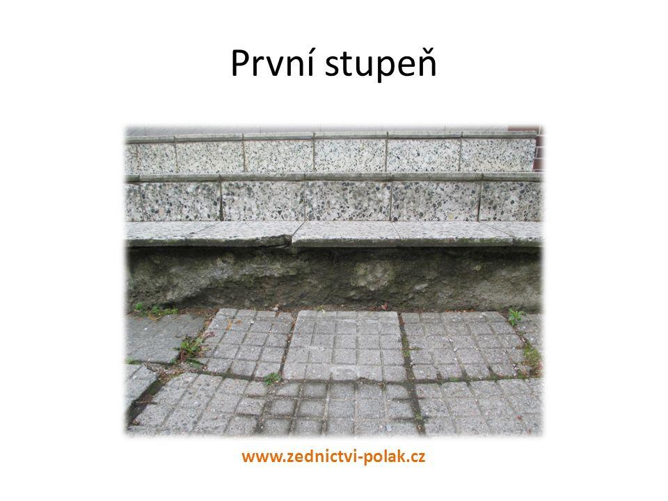 První stupeň www.zednictvi-polak.cz