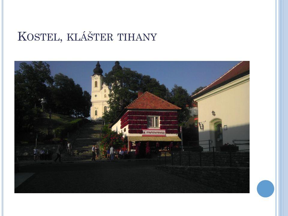 Kostel, klášter tihany