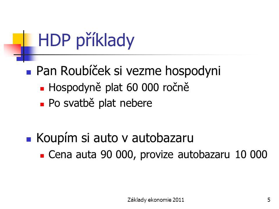 HDP příklady Pan Roubíček si vezme hospodyni