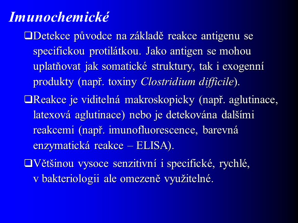 Imunochemické