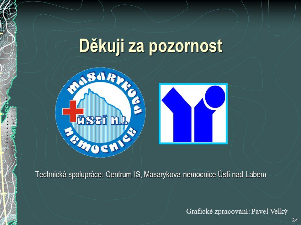 Technická spolupráce: Centrum IS, Masarykova nemocnice Ústí nad Labem