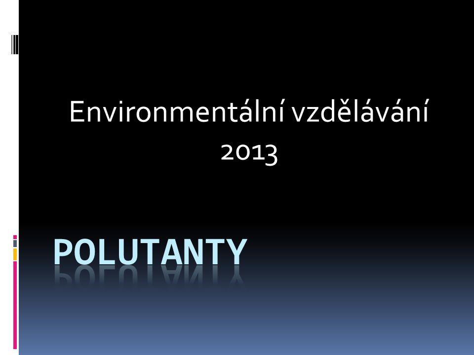 Environmentální vzdělávání 2013