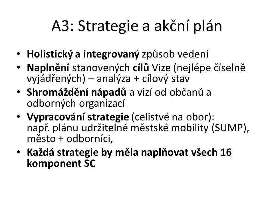 A3: Strategie a akční plán
