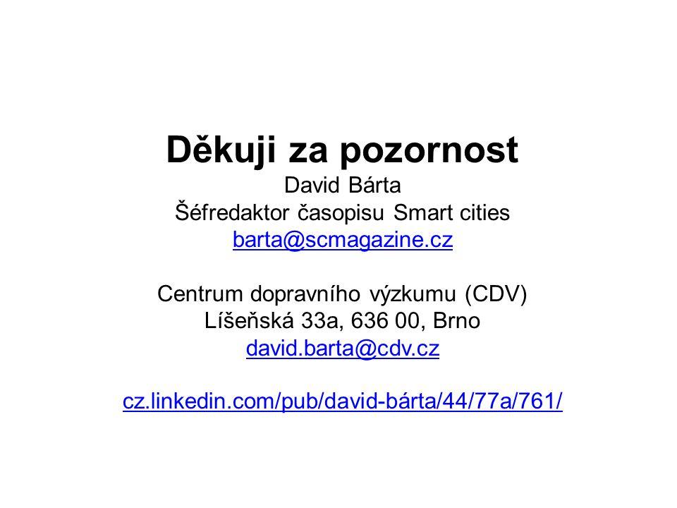 Chytrá slovenská a česká města