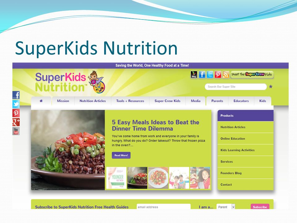 SuperKids Nutrition