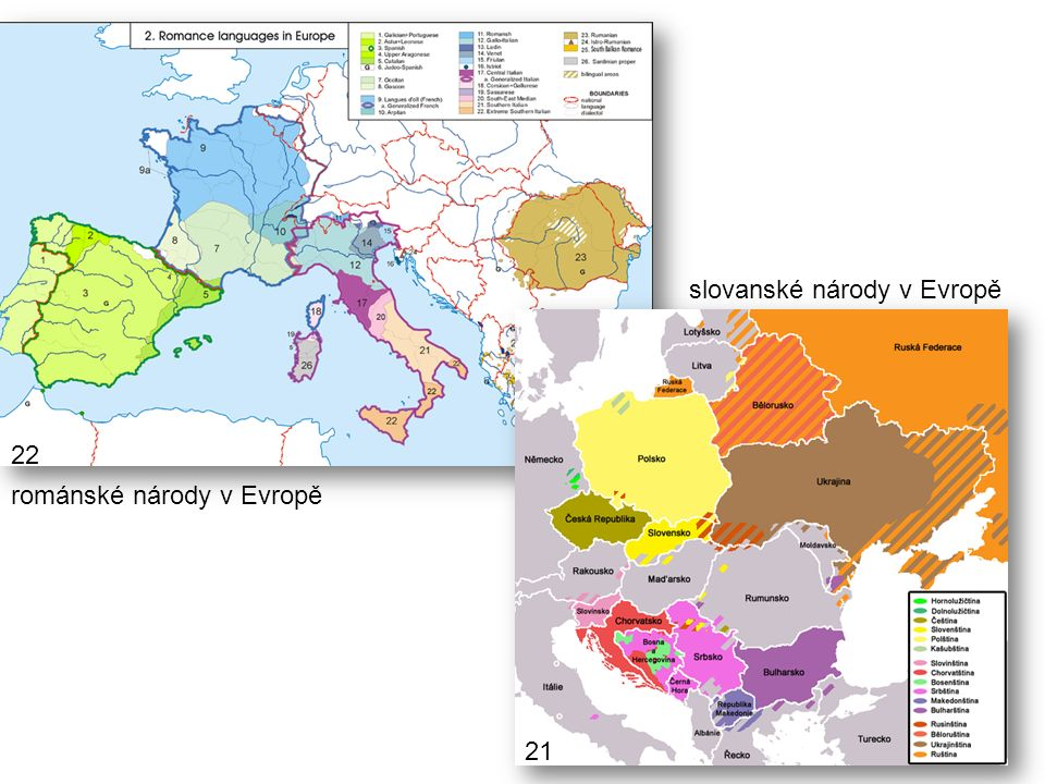 slovanské národy v Evropě