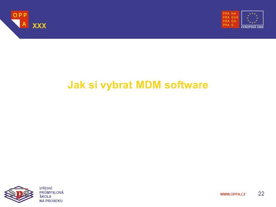 Jak si vybrat MDM software