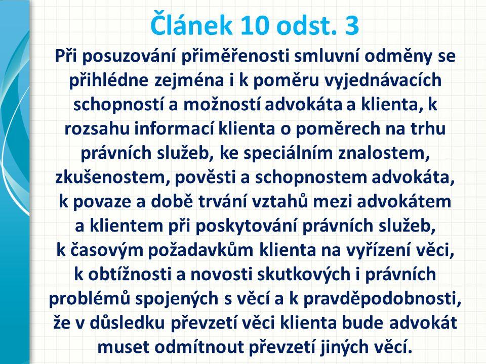 Článek 10 odst. 3