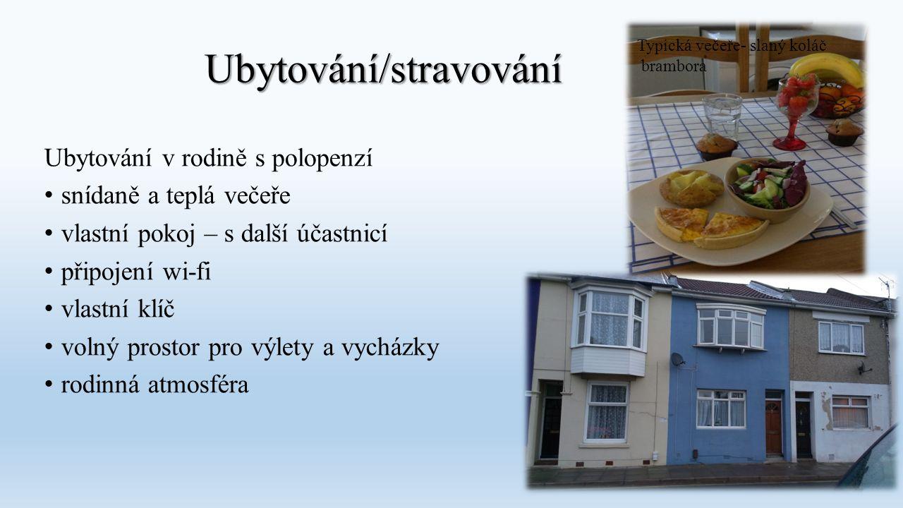 Ubytování/stravování