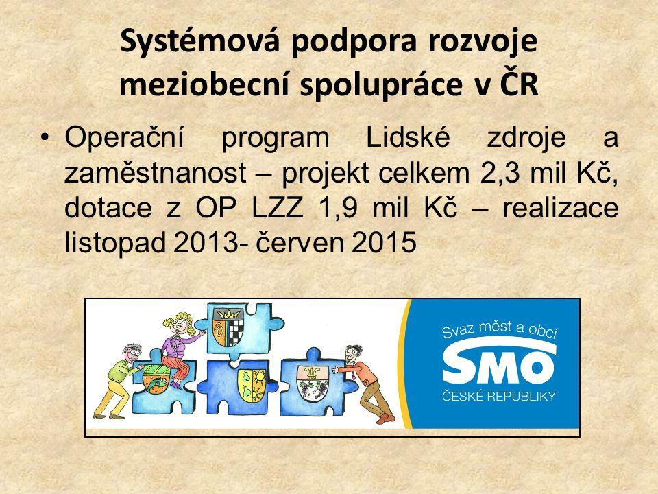 Systémová podpora rozvoje meziobecní spolupráce v ČR
