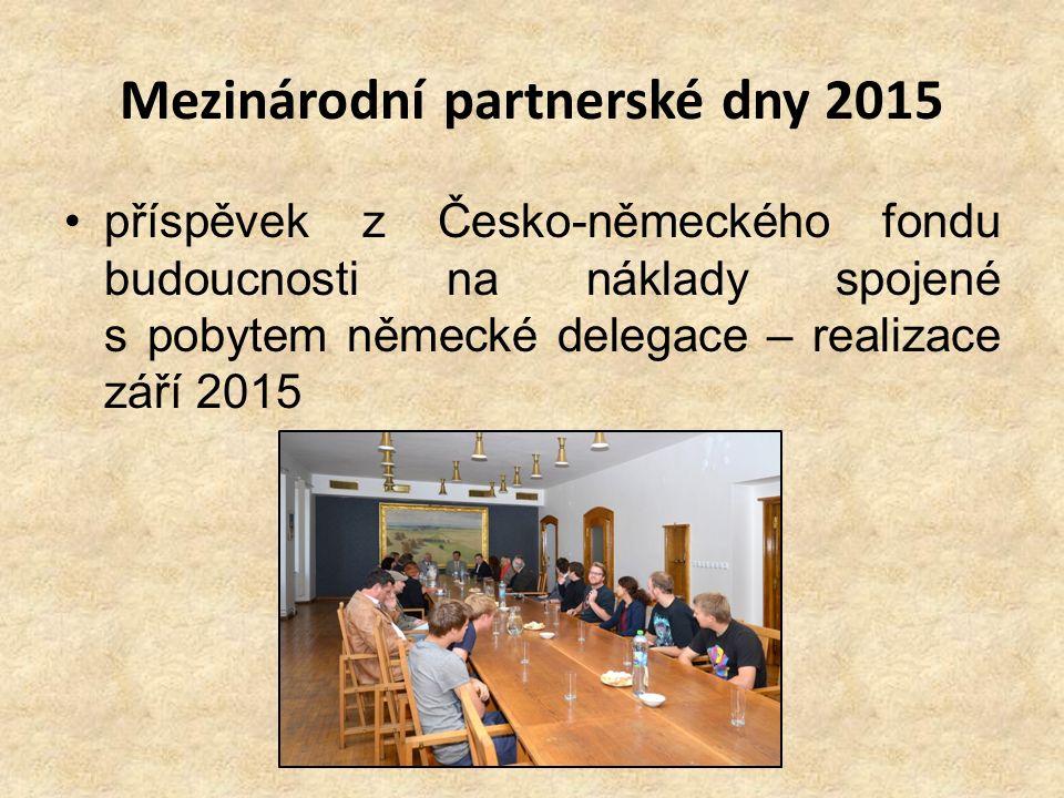Mezinárodní partnerské dny 2015