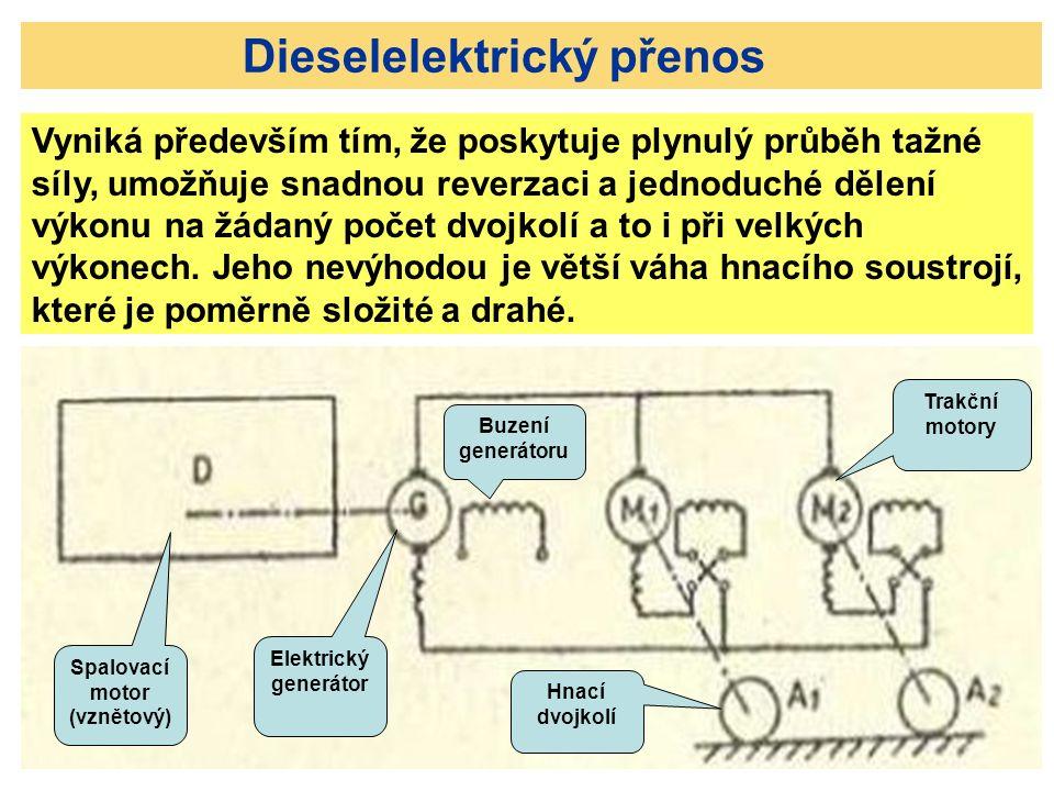 Dieselelektrický přenos