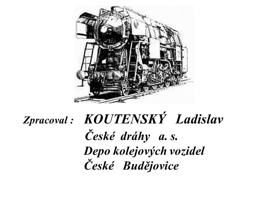 České dráhy a. s. Depo kolejových vozidel České Budějovice