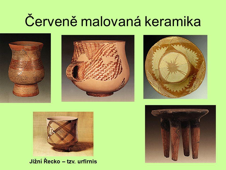 Červeně malovaná keramika