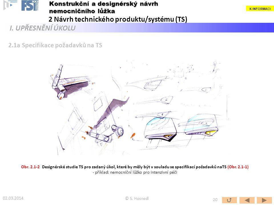 - příklad: nemocniční lůžko pro intenzivní péči