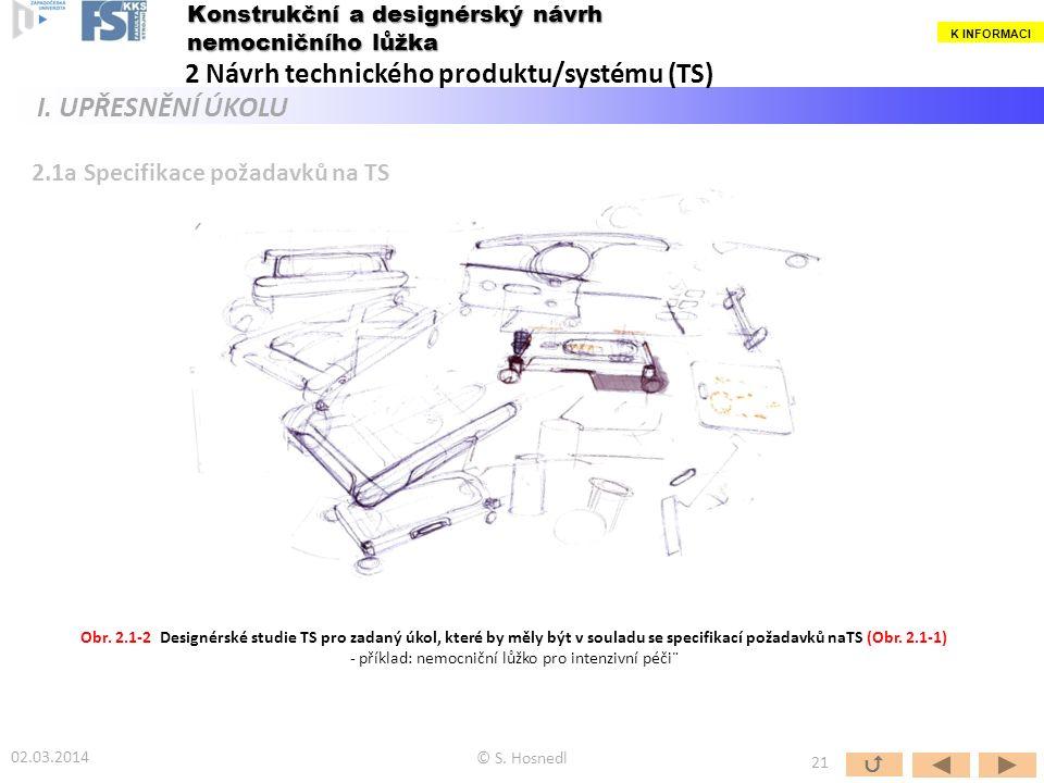 - příklad: nemocniční lůžko pro intenzivní péči¨