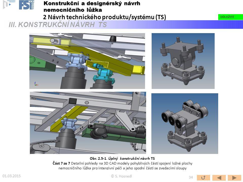 Obr. 2.5-1. Úplný konstrukční návrh TS