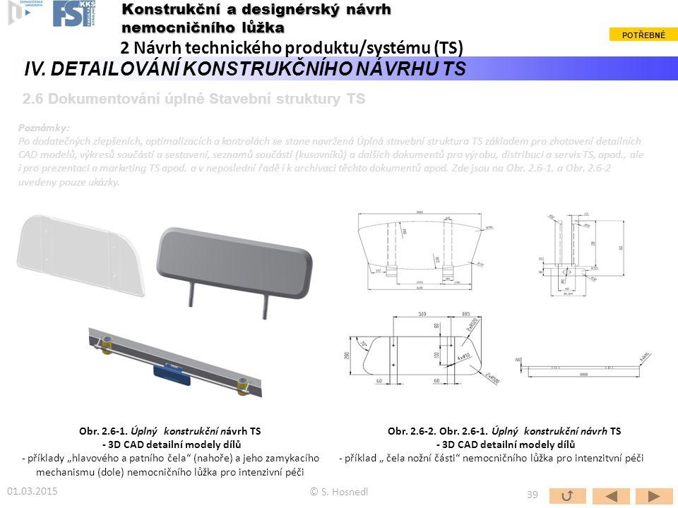 2 Návrh technického produktu/systému (TS)