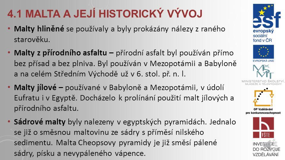 4.1 malta a její historický vývoj