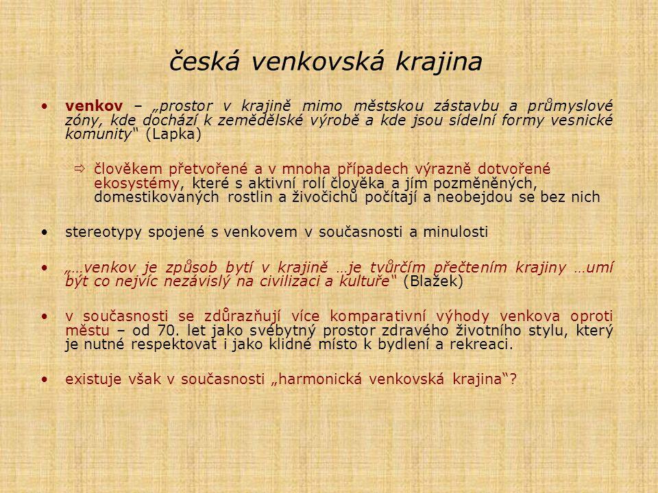 česká venkovská krajina