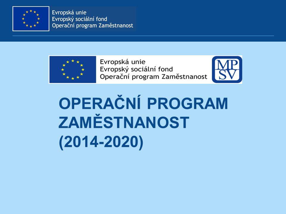 Operační program Zaměstnanost (2014-2020)