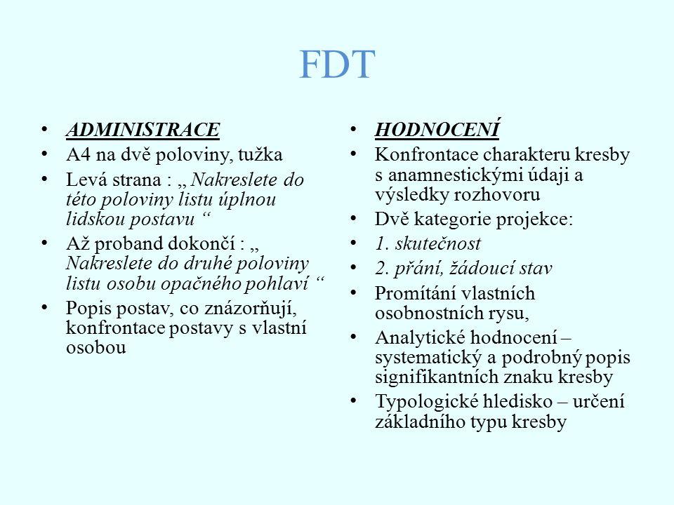 FDT ADMINISTRACE A4 na dvě poloviny, tužka