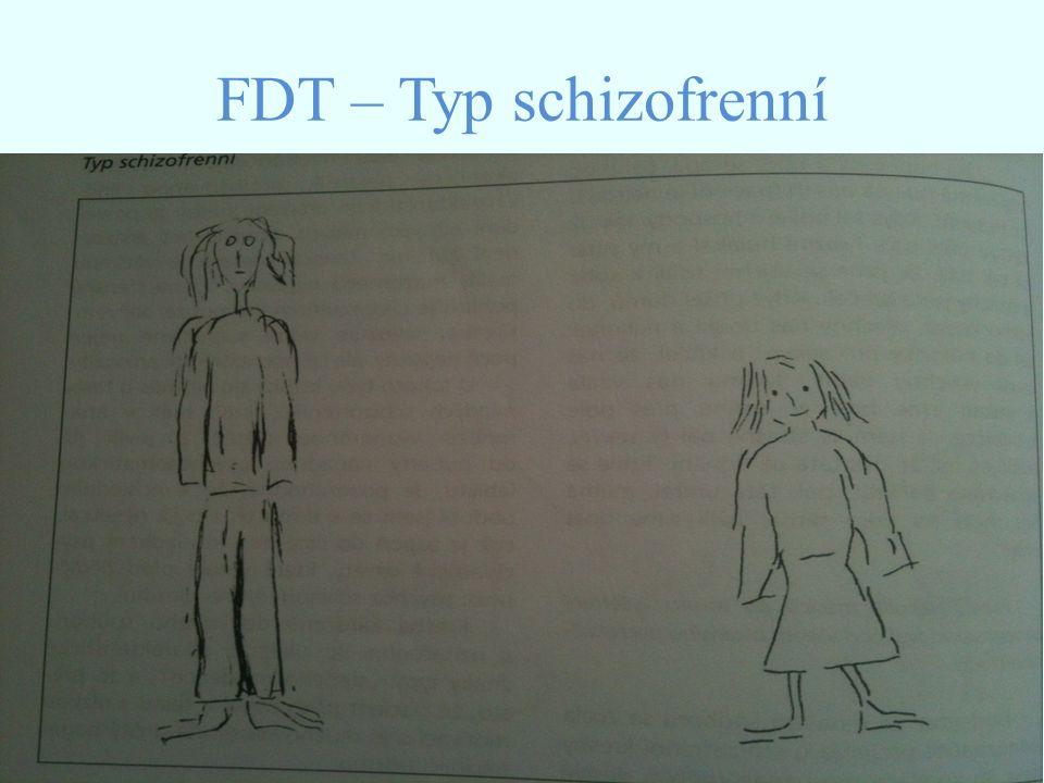 FDT – Typ schizofrenní