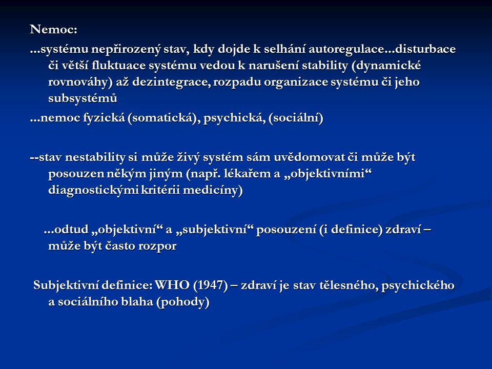 Nemoc: